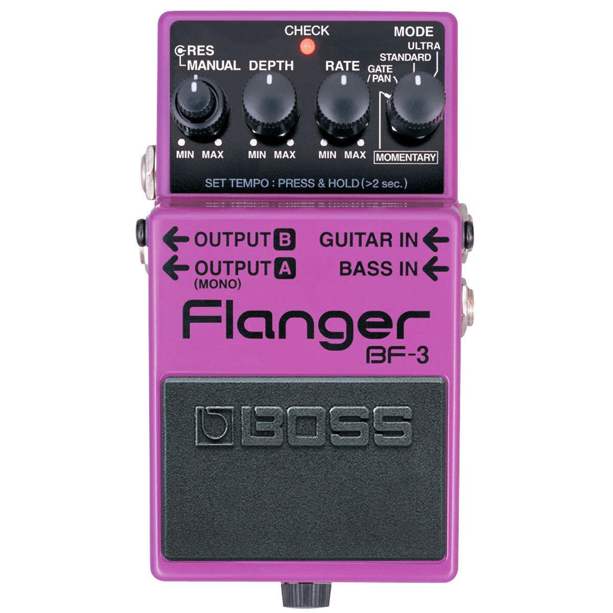 Boss BF-3 Flanger Pedal Effektgerät für Gitarre und Bass