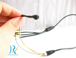 Smallest mini screw 1000TVL High HD CCTV color spy hidden pinhole micro camera