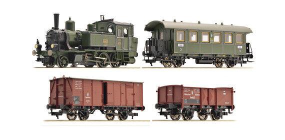 Fleischmann 481302 Zugset della regale regale regale Bayerische capi di stato Ferrovie, epoca I 969225