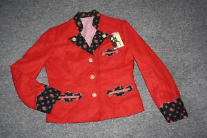 Jacket Almsach Leinenjanker Nuovo Vintage Traditional Jacket 38 Dirndl St93 IwEqxPI0