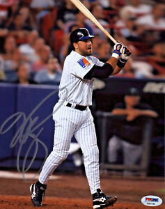 Mike-Piazza-Signed-8x10-New-York-Mets-Photo-MLB-Home-Run-PSA-DNA-Silver