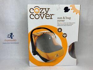 Cozy Cover Sun and Bug Cover Orange Multicolor New