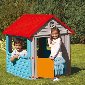 Childrens My City House Indoor Outdoor Playhouse Summer Garden Fun
