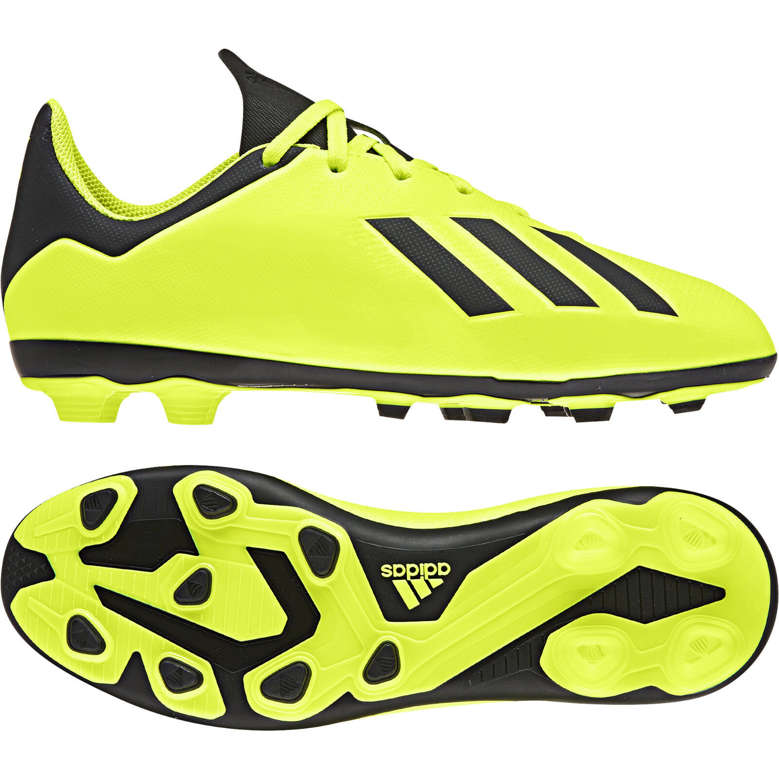 b0054406d Adidas Kids shoes Boys Soccer X 18.4 Flexible Ground Football Boots DB2420  New