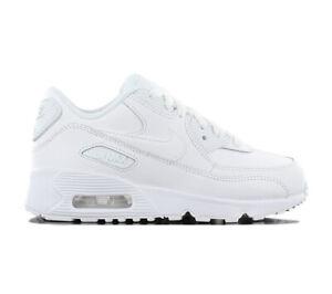 sale retailer 798b6 c3495 Das Bild wird geladen Nike-Air-Max-90-Leather-Kinder-Sneaker-833414-