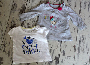 MOTHERCARE-AND-BHS-baby-girl-tops-3-6-months