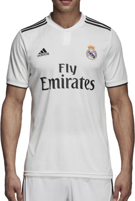 8b5bad56 Mens M adidas Real Madrid Home Authentic Shirt 2018-19 Kroos 8 UCL ...