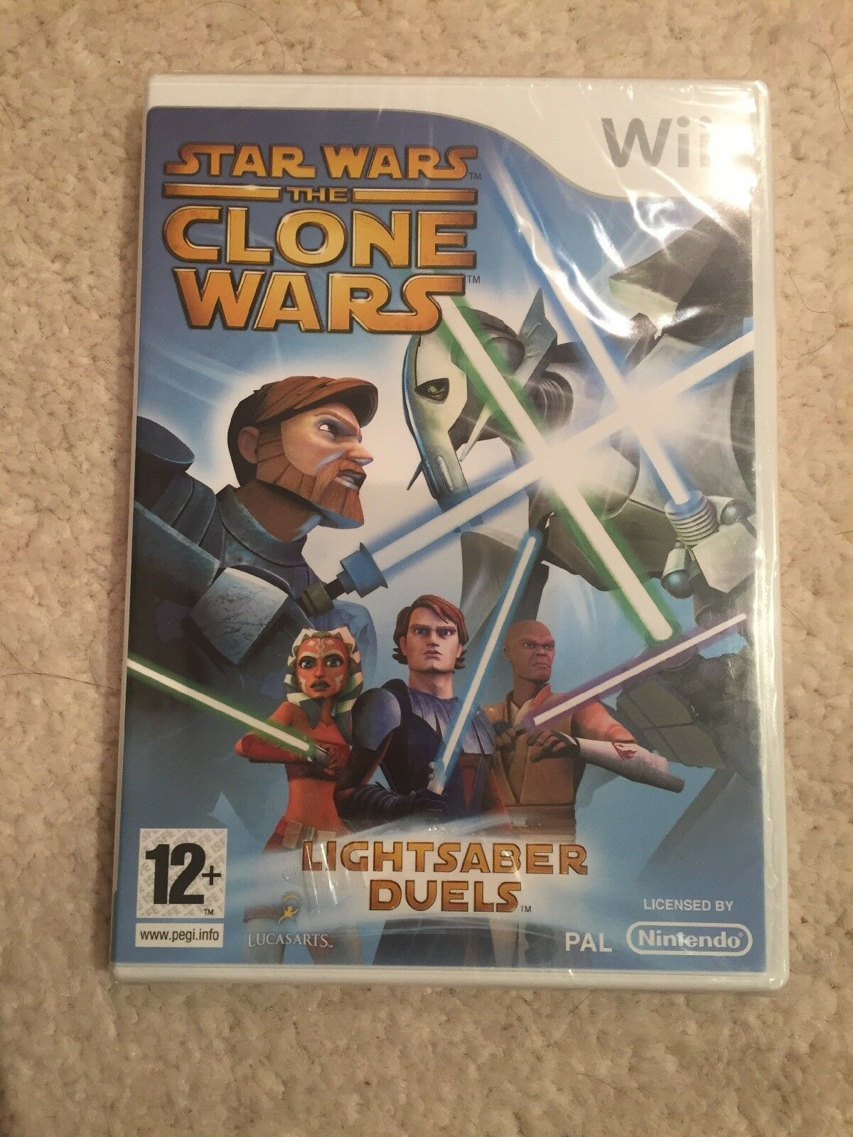 Nintendo Wii Star Wars The Clone Wars Game - Occasion StarWars