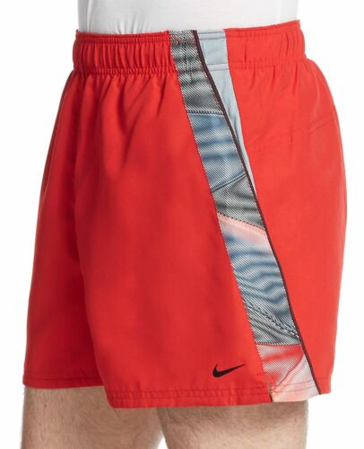 NIKE VOLLEY SWIM SHORTS TRUNK UNIVERSITY RED MENS SIZE X-LARGE NEW WITH TAGS $44