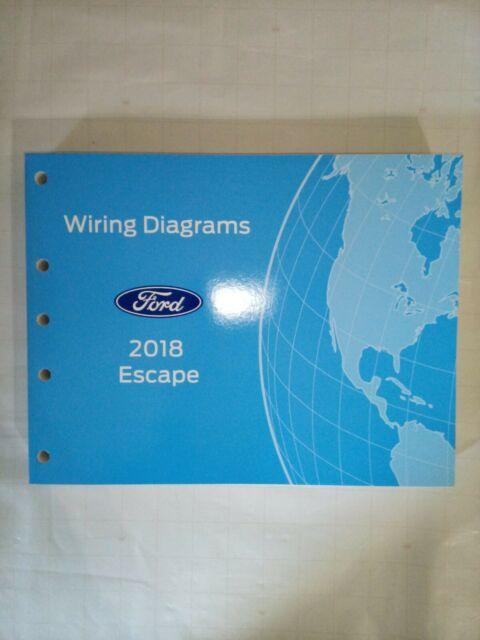 2018 Ford Escape Wiring Diagrams Service Shop Manual Oem