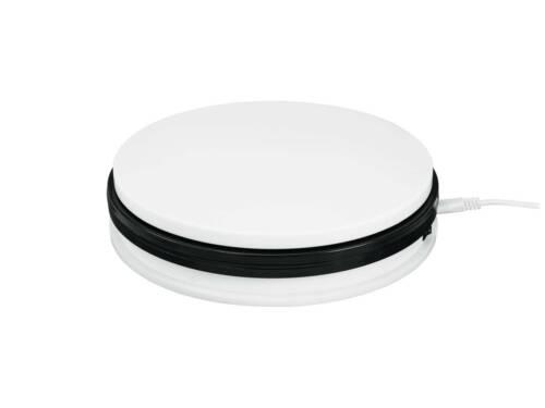 15kg weiß elektrischer rotierender Teller showking Drehteller NAMU Ø25cm max