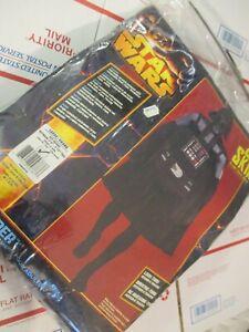 Black Star Wars 2nd Skin Full Body Suit Adult Darth Vader