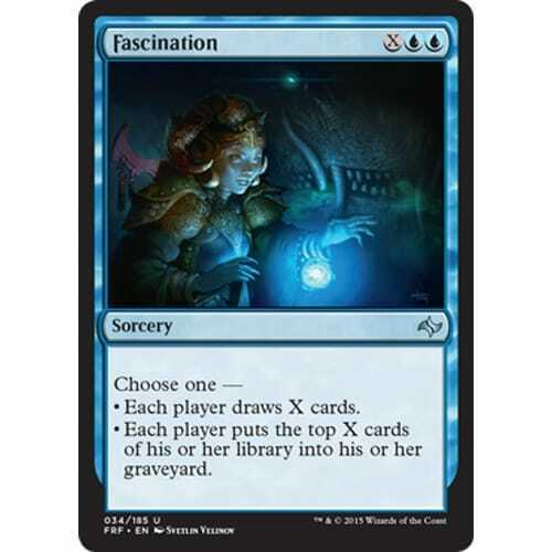 MTG FATE REFORGED Fascination
