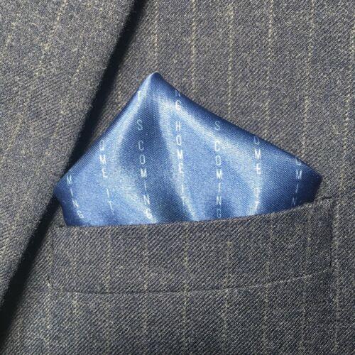 Il est Coming Home PIN STRIPE gilet Accessoire poche-Carré-Coupe du monde 2018