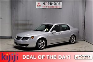 2007 Saab 9-5 2.3 TURBO Leather,  Heated Seats,  Sunroof,
