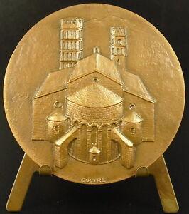 Medaglia-Cattedrale-Sainte-Eulalie-E-Sainte-Julie-Elne-Illiberri-Helena-Medal