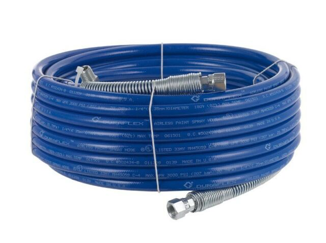 "Graco Duraflex Airless Sprayer Hose 3000 Psi 1/4 "" X 50 '"