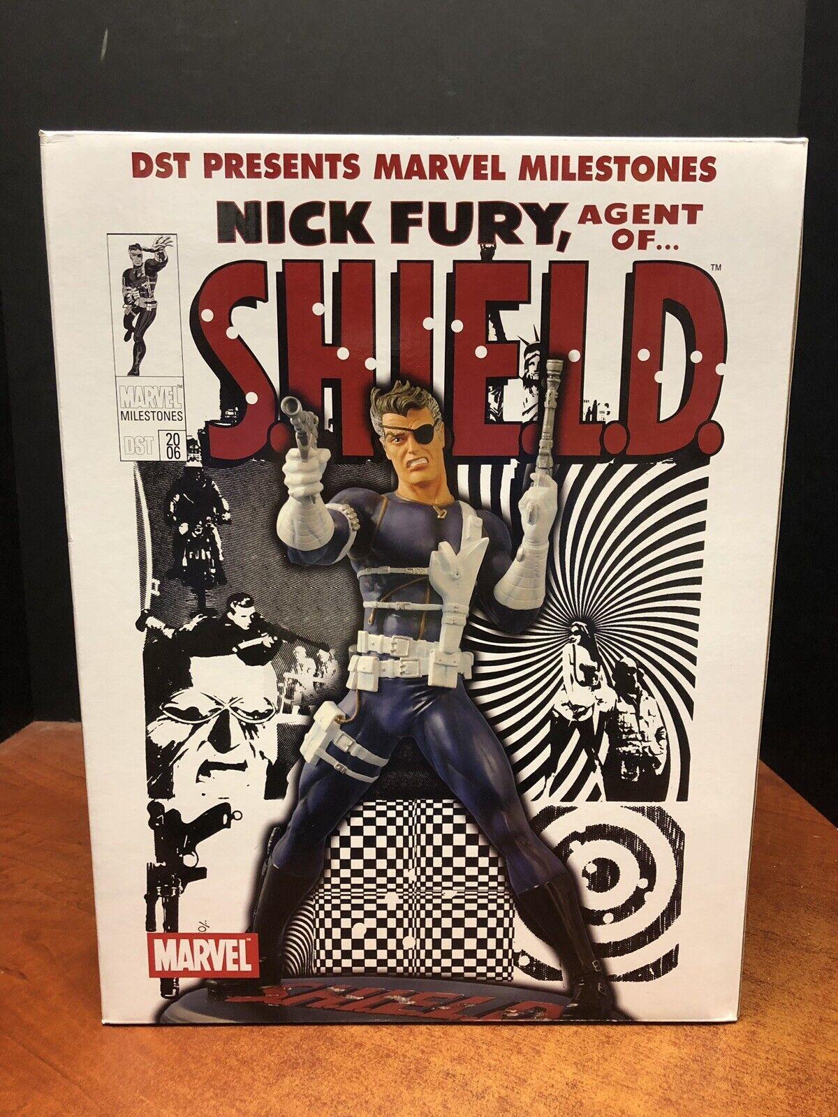 Diamond seleccionar Marvel Nick Fury Agente De Shield Estatua Edición Limitada 2500 Tamp 0209