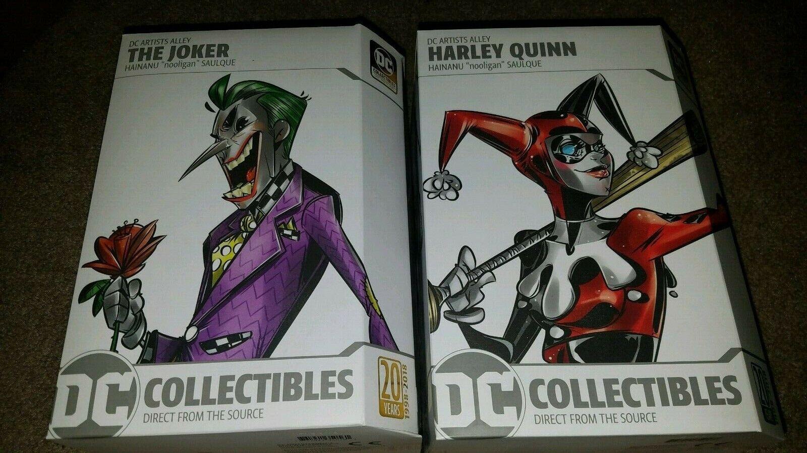 DC Coleccionables DC artistas callejón el Guasón, Harley Quinn hainanu nooligan saulque