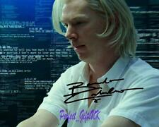 Benedict Cumberbatch Fifth Estate SIGNED AUTOGRAPHED 10X8 REPRO PHOTO PRINT