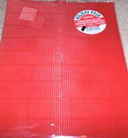 Plastic Canvas Christmas Pack - Green / Red / White Sheets Nip 7 Mesh 13.5x10.5