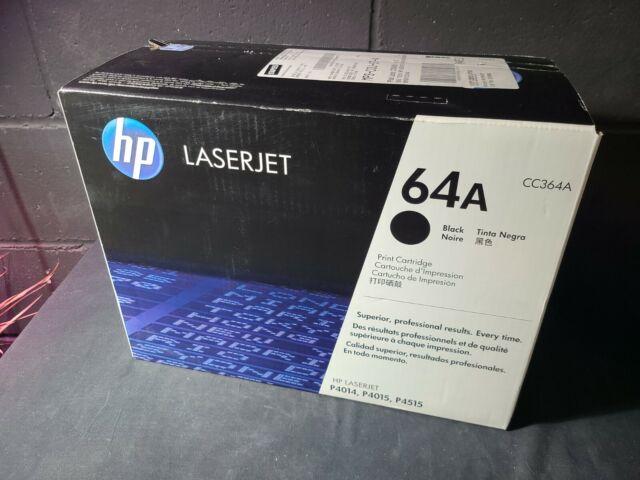 Genuine HP 64A Black Toner CC364A Sealed Box - LaserJet P4015 P4515 OEM Original