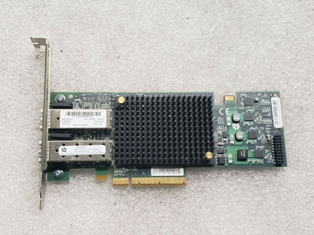 HP 581199-001 NC550SFP 2-Port 10GbE Server Adapter Full Height Bracket