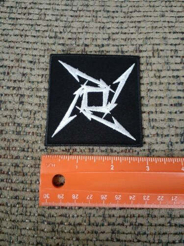 Metallica Rock Band Sew or Iron on Patch NEW
