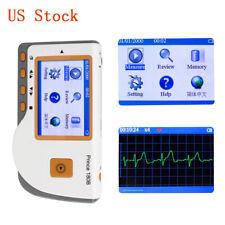 Medical Portable Prince 180b Handheld Ecg Ekg Monitor Electrocardiogram Lcd