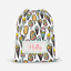 Personalised Cartoon Ice Cream Unisex Kids Drawstring Bag PE Swimming School Bag