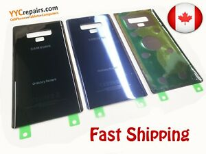 OEM-Rear-Back-Glass-Replacement-Cover-Door-G960-Samsung-Galaxy-Note-9-Adhesive