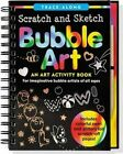 Scratch & Sketch Bubble Art  : An Art Activity Book for Imaginative Bubble Artists of All Ages by Talia Levy (Hardback, 2015)