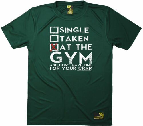 Single Taken At The Gym SWPS Premium Dry Fit Breathable Sports T-SHIRT