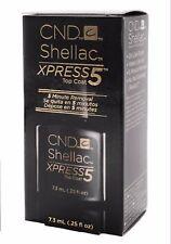 CND Creative Nail Shellac Xpress5 Top Coat .25oz/7.3mL