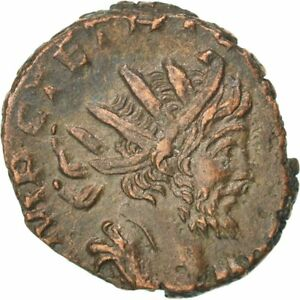 #64784 Cohen #95 Antoninianus Tetricus I 50-53 Billon Au Beautiful 2.60 Fragrant Aroma