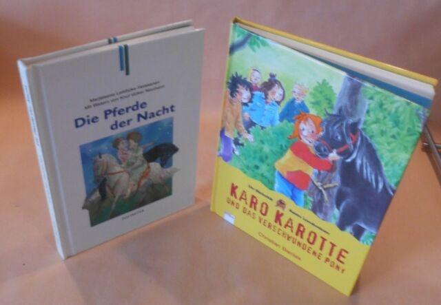 Karo Karotte und das verschwundene Pony Bücherbär+Die Pferde der Nacht Buch/Kind