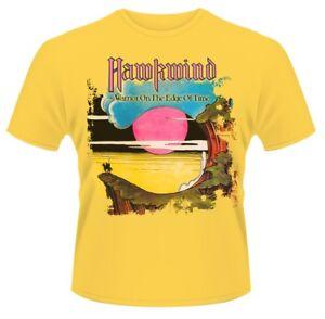 Hawkwind-039-Warrior-en-el-borde-del-tiempo-034-T-shirt-Nuevo-Y-Oficial