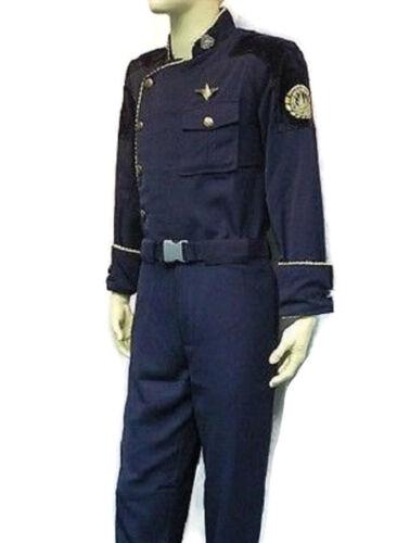 BATTLESTAR GALACTICA SENIOR OFFICER DUTY BLUES ADMIRAL UNIFORM COSTUME