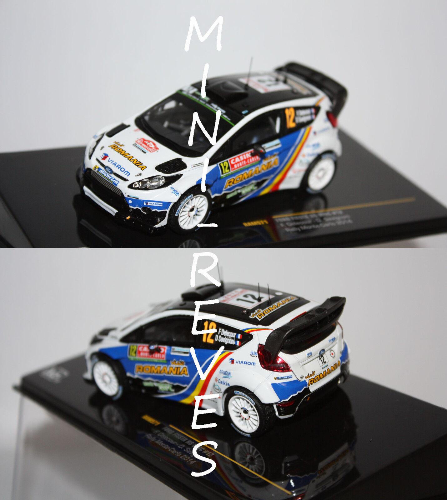Ixo Ford Fiesta RS WRC Rally Monte Carlo 2014 F. Delecour 1 43 RAM571