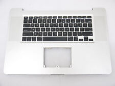 "USED US Keyboard Top Case Topcase Palm Rest for 17"" MacBook Pro 2009 A1297"