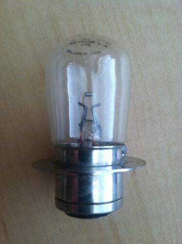 NOS Genuine Lucas headlamp bulb 312  Prefocus 6V TRIUMPH BSA NORTON AJS MATCHLES