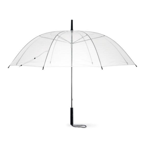 """38 """"transparente Domo Umbrella-transparente Boda Novia Lluvia Brolly A Pie-manual-ver"""