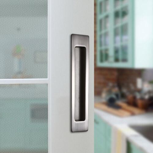 CCJH Invisible Door Knob For Sliding Barn Wood Door Door Handle Easy Install