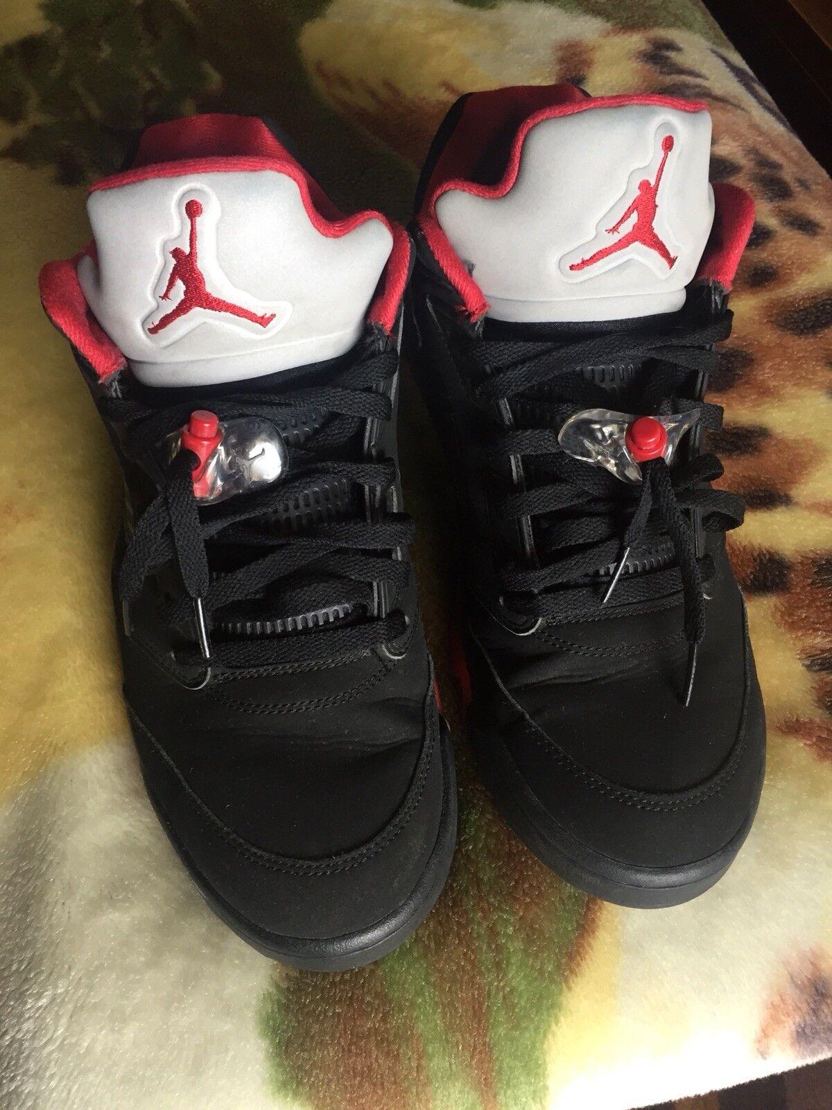 Air Jordan 5 Retro Alternate 90- Size 11.5 Red/Black