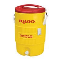 Igloo 10 Gallon Yellow Cooler on sale