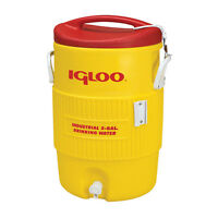 Igloo 10 Gallon Yellow Cooler on sale