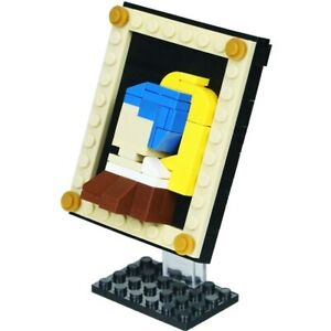 New World famous painting Mini Version Girl with a Pearl Earrin Building Blocks