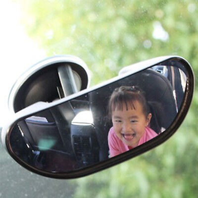15cm Car Easy View Rear Back Seat Baby Child Kids Safety Mirror Suction Mirror