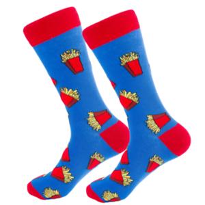 Yummy-French-Fries-Funky-Happy-Crew-Socks