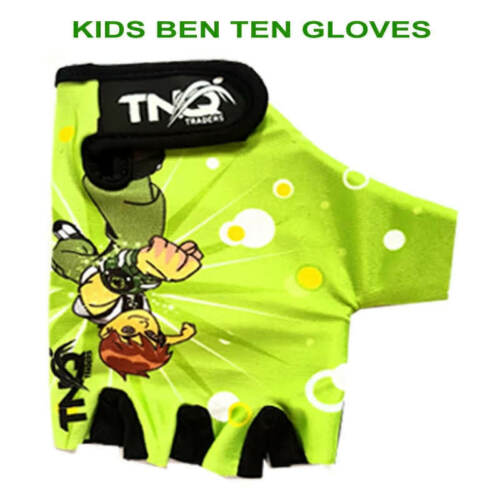 Children Kids Girls Boys Cycling Padded Gloves for Sports Bike Bicycle BMX TNQ